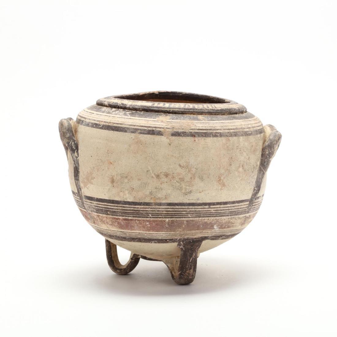Rare Cypro-Archaic Bichrome Ware Stamnos
