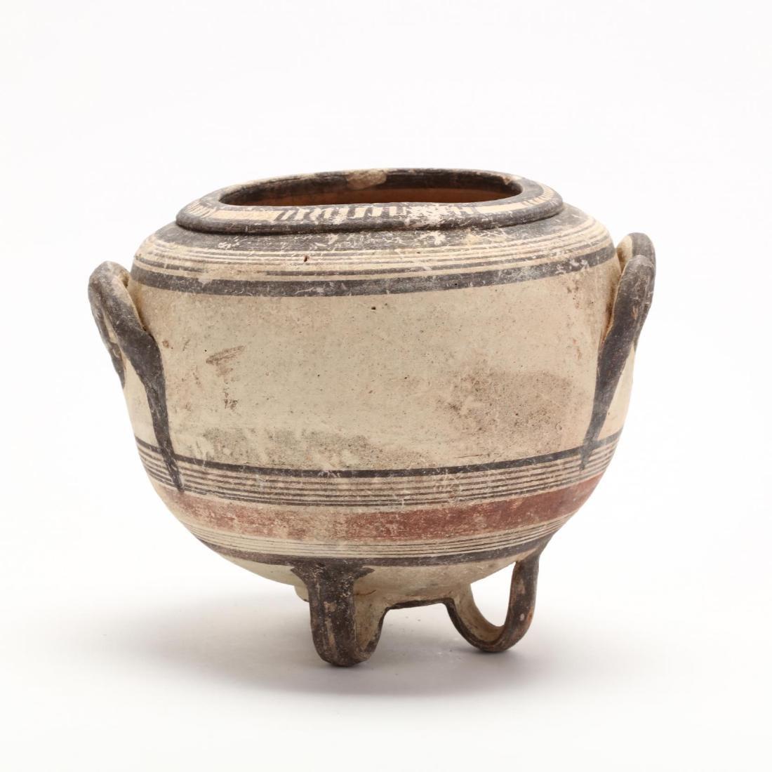 Rare Cypro-Archaic Bichrome Ware Stamnos - 4