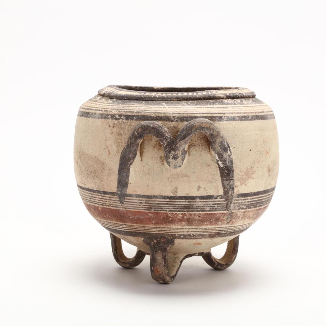 Rare Cypro-Archaic Bichrome Ware Stamnos - 5