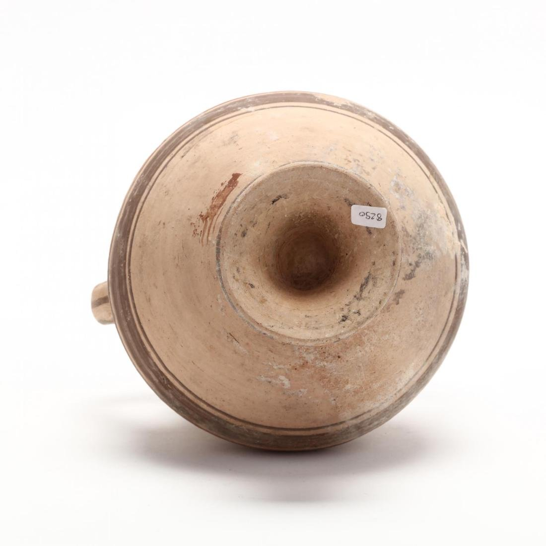 Cypro-Archaic Two-Handled Footed Amphora - 6
