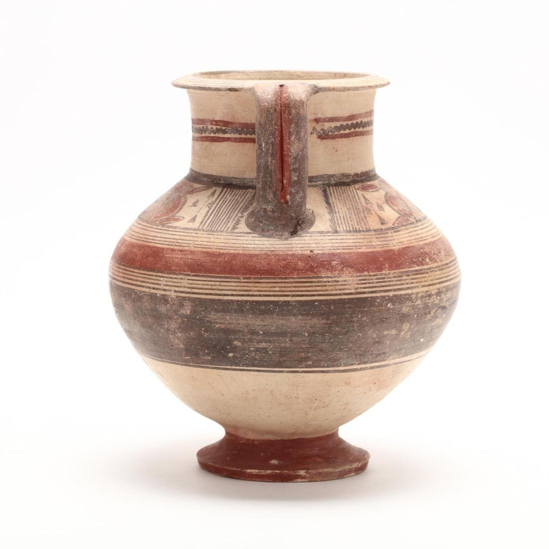 Cypro-Archaic Footed Amphora - 5