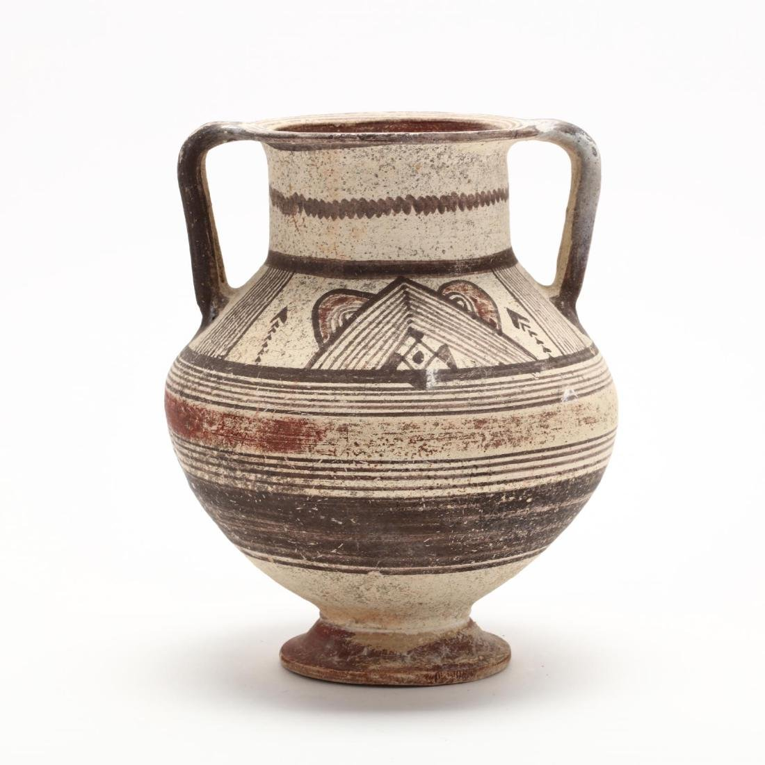 Cypro-Archaic Footed Amphora - 4
