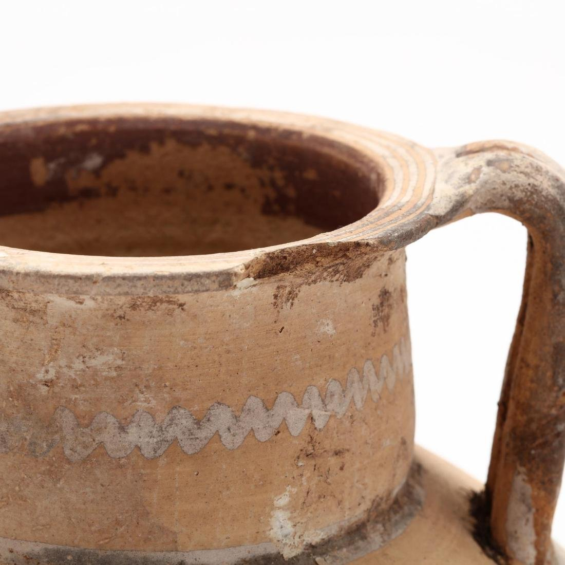 Cypro-Archaic Footed Amphora - 3