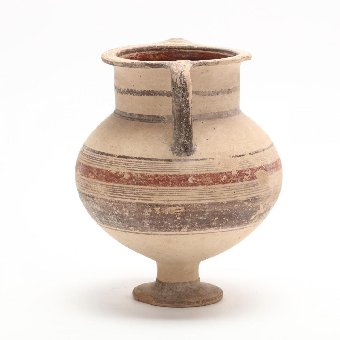 Cypro-Geometric Footed Amphora - 3