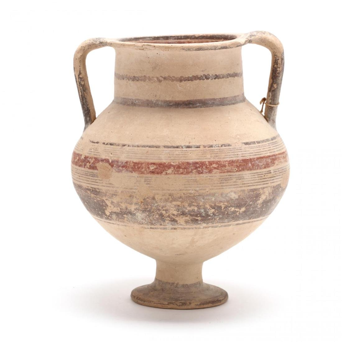 Cypro-Geometric Footed Amphora - 5