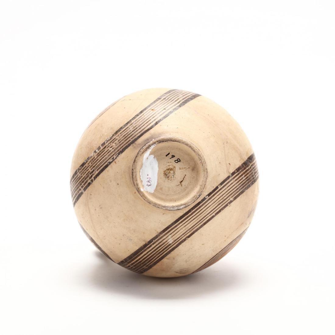 Cyprio-Archaic Barrel Form Bichrome Pitcher - 6
