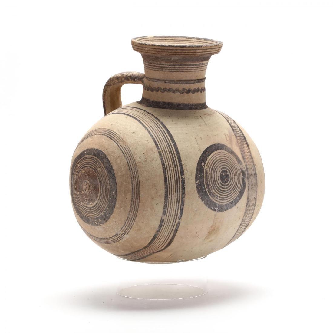 Large Cypro-Archaic Knob-End Jug