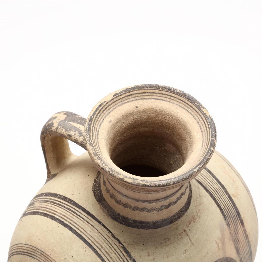 Large Cypro-Archaic Knob-End Jug - 2