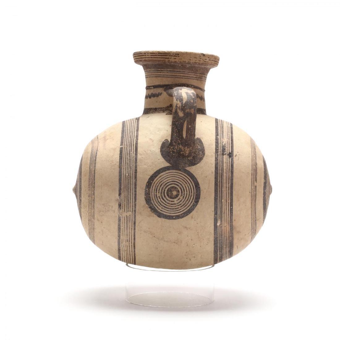 Large Cypro-Archaic Knob-End Jug - 4