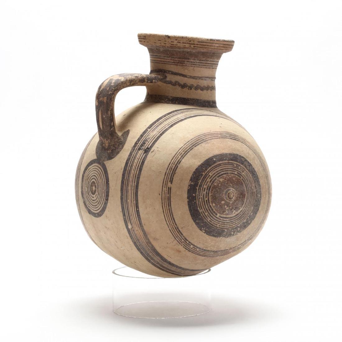 Large Cypro-Archaic Knob-End Jug - 5