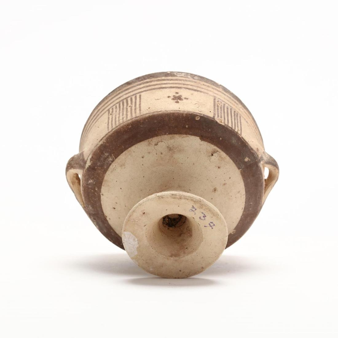 Cypro-Geometric Bichrome Stemmed Cup - 6