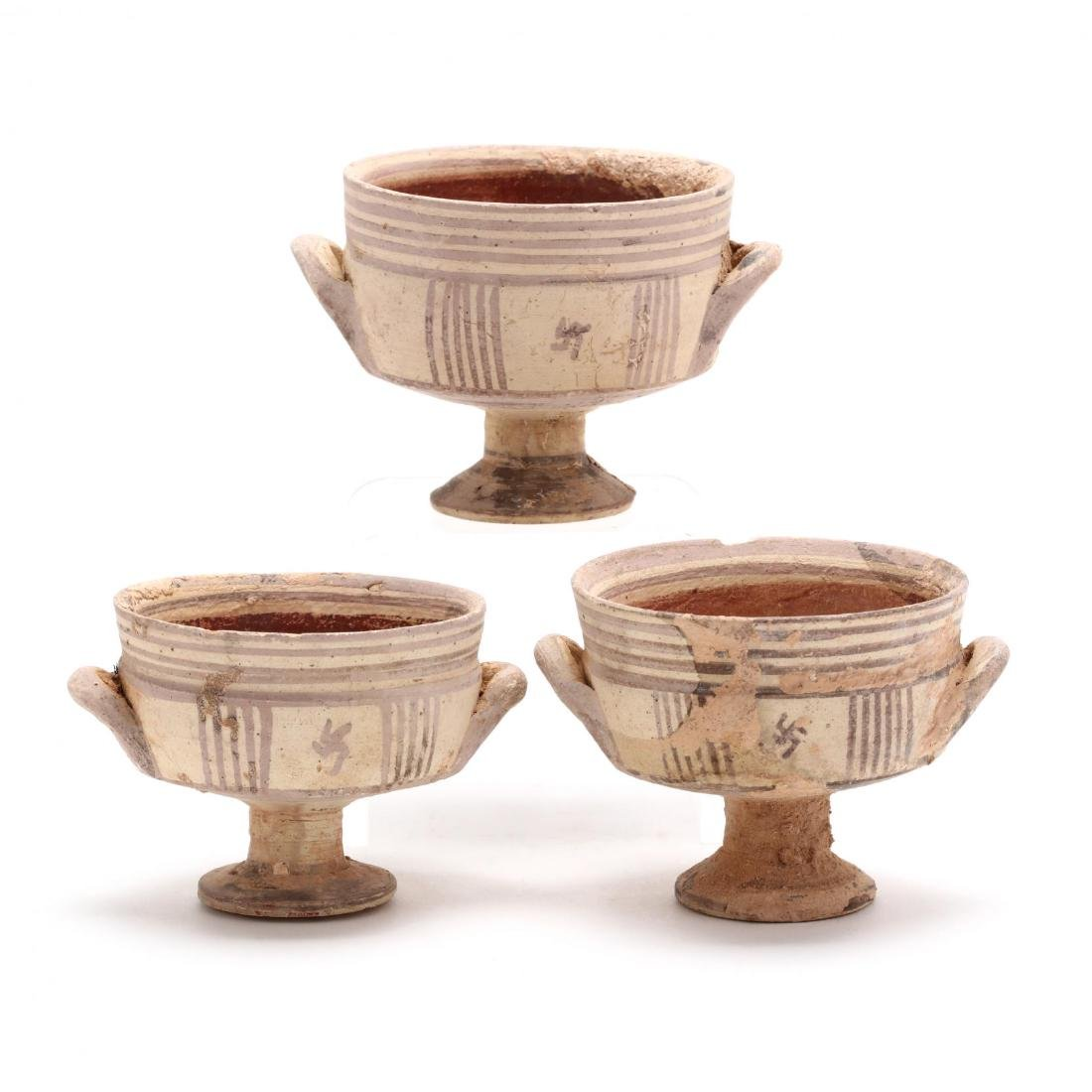 Three Conforming Cypro-Geometric Stemmed Cups