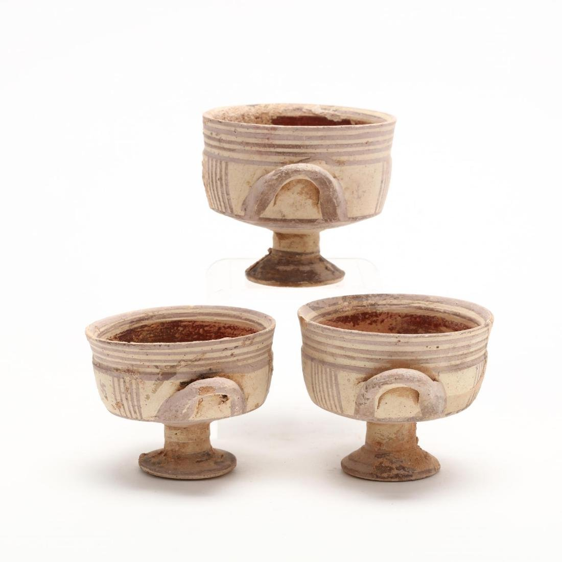 Three Conforming Cypro-Geometric Stemmed Cups - 5
