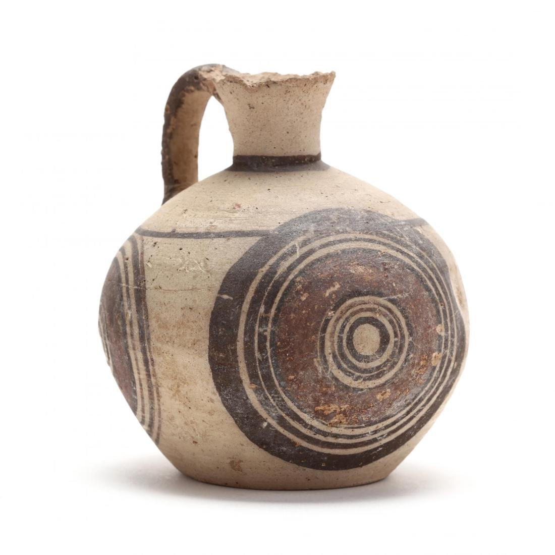 Cypro-Geometric Bichrome Jug, Ex. Eban Collection