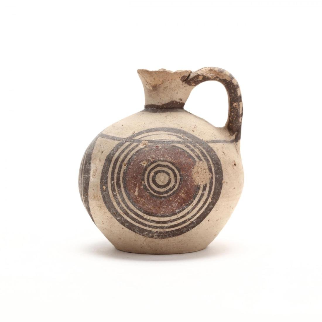 Cypro-Geometric Bichrome Jug, Ex. Eban Collection - 3