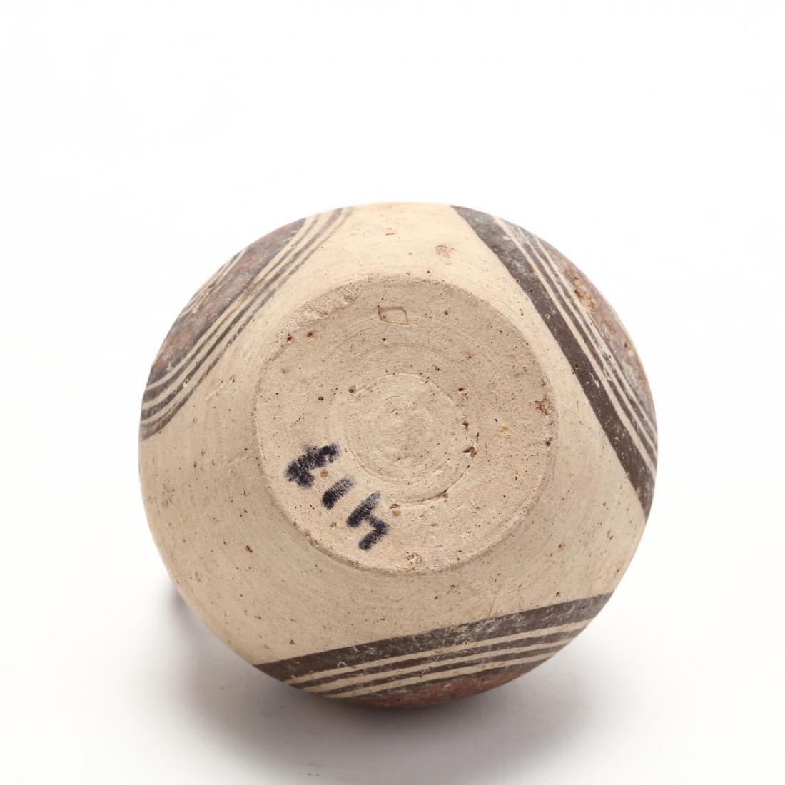 Cypro-Geometric Bichrome Jug, Ex. Eban Collection - 5