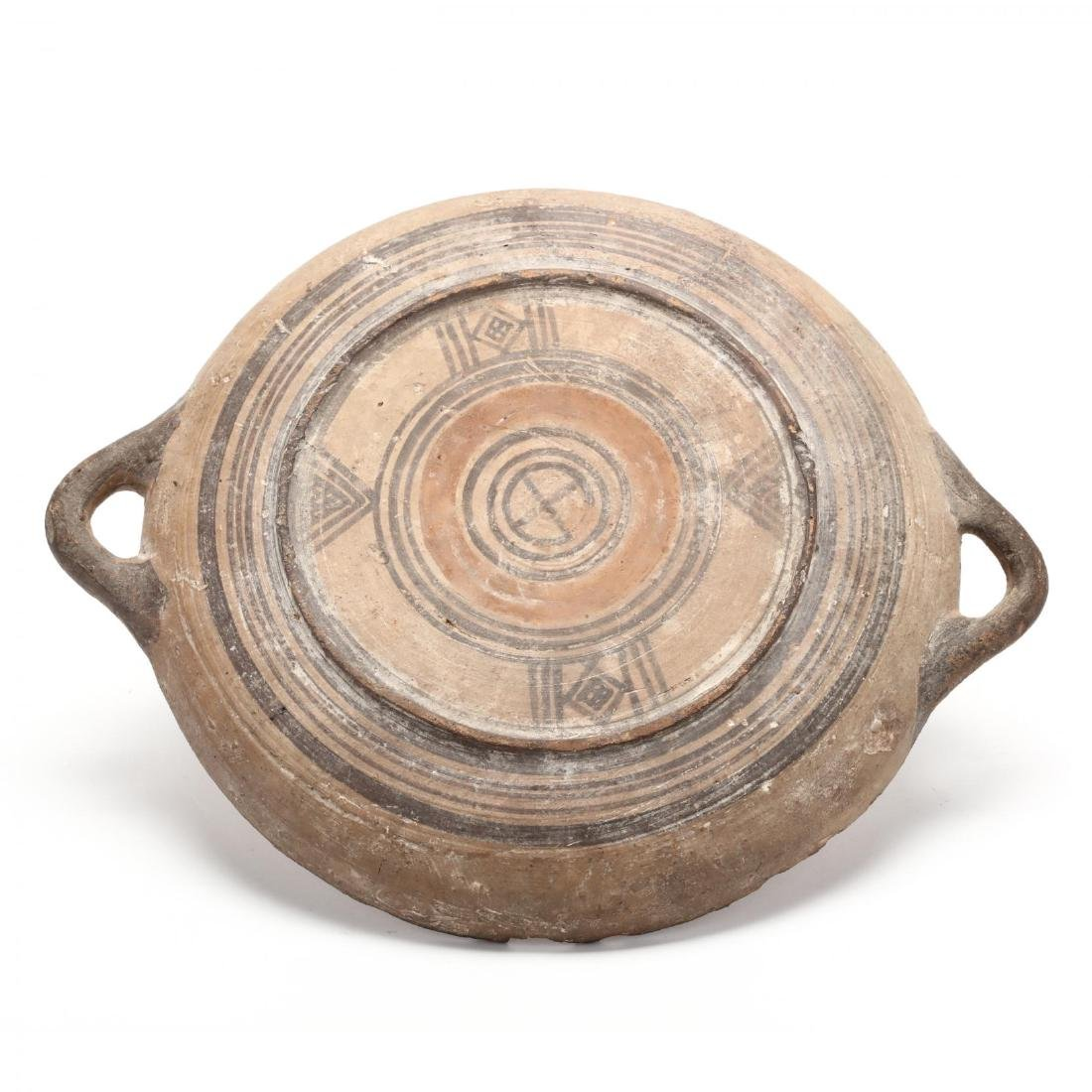 Cypro-Geometric Bichrome Ware Dish - 4