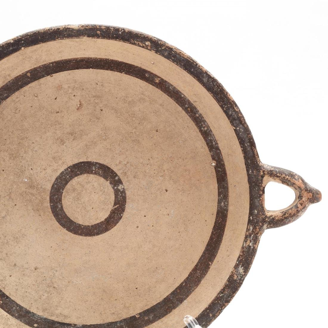 Cypro-Geometric Two-Handled Dish - 2