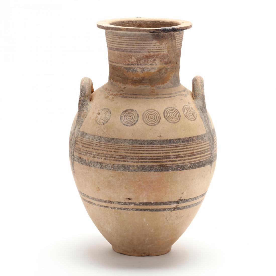 Cypro-Geometric Footed Amphora
