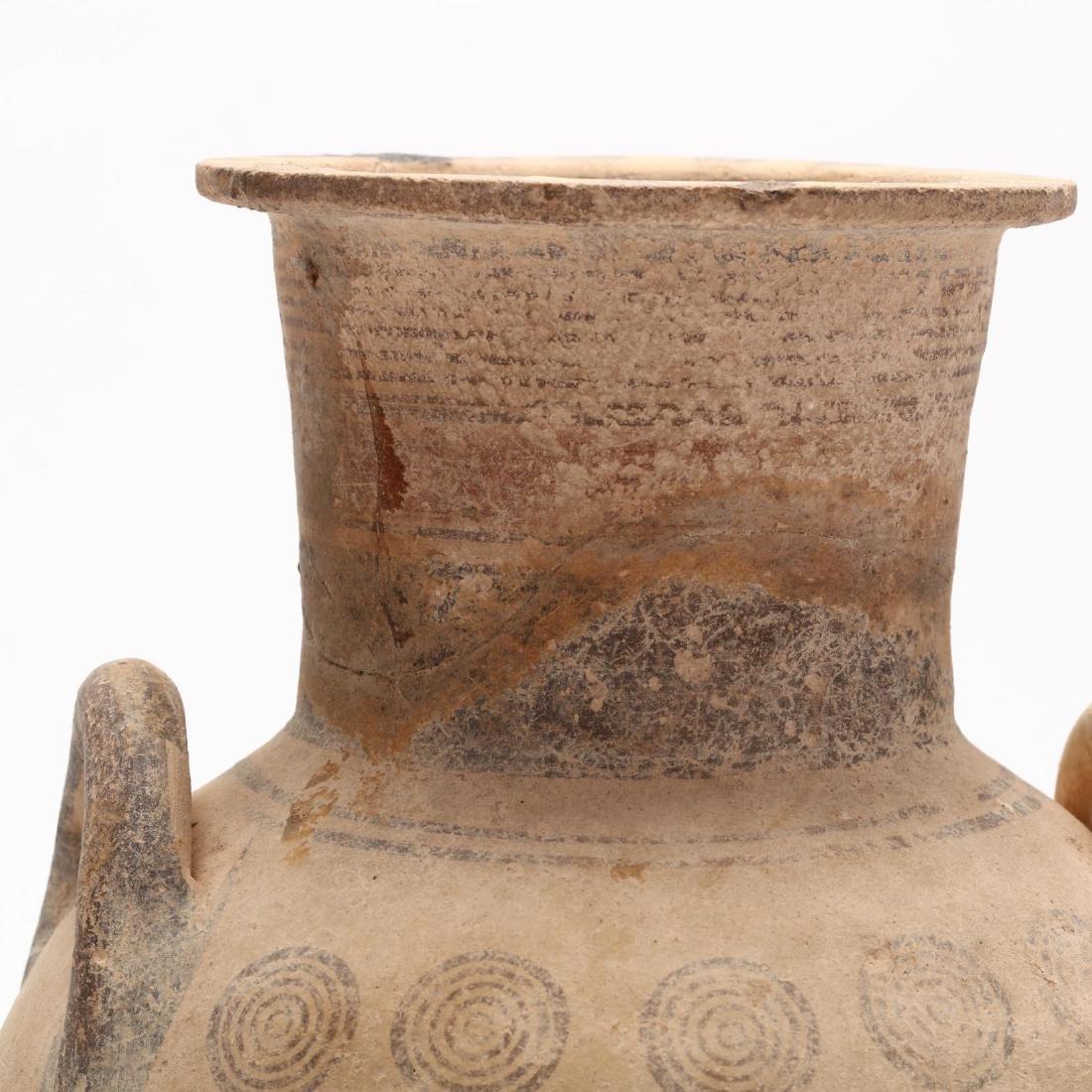 Cypro-Geometric Footed Amphora - 7
