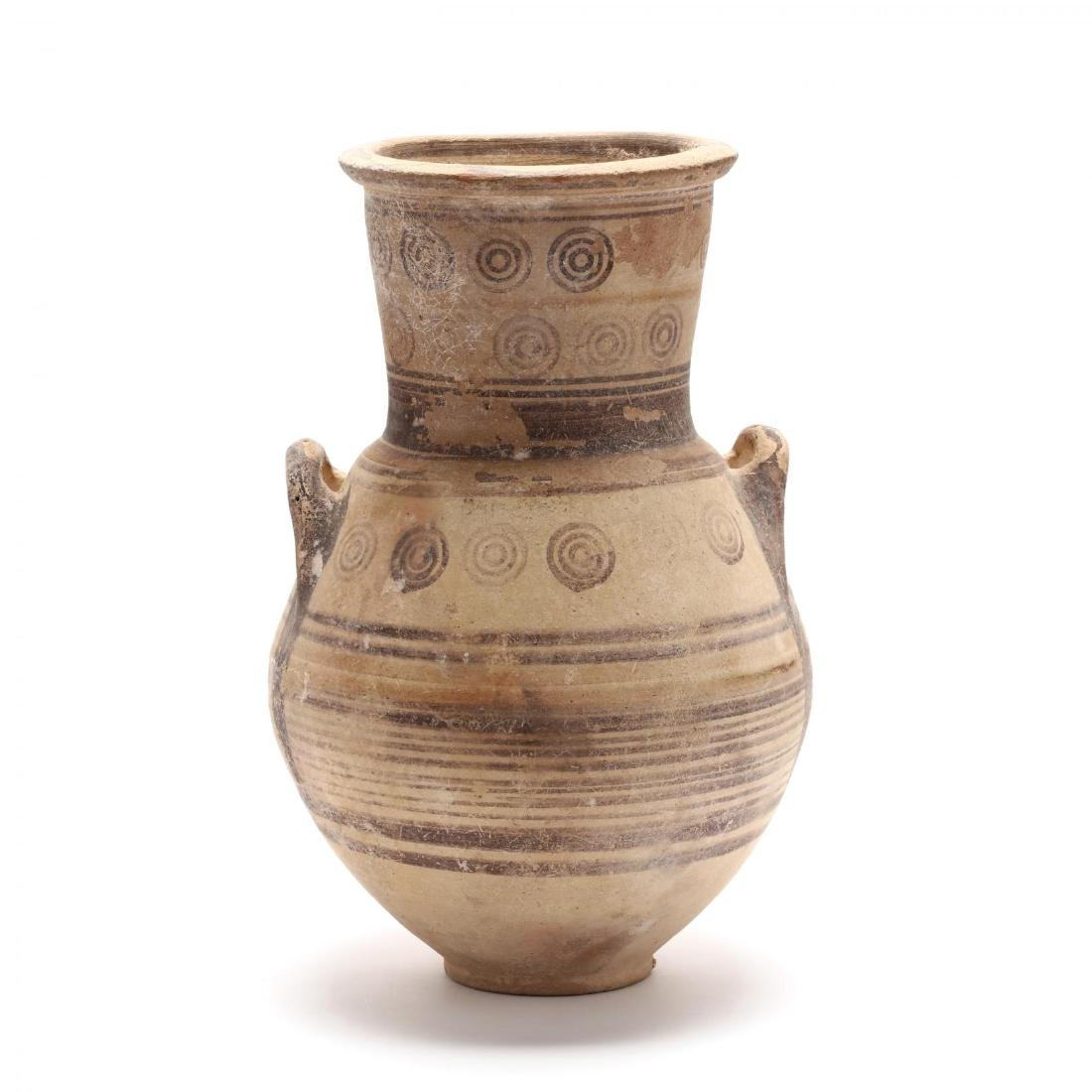 Cypro-Archaic Bichrome Amphora