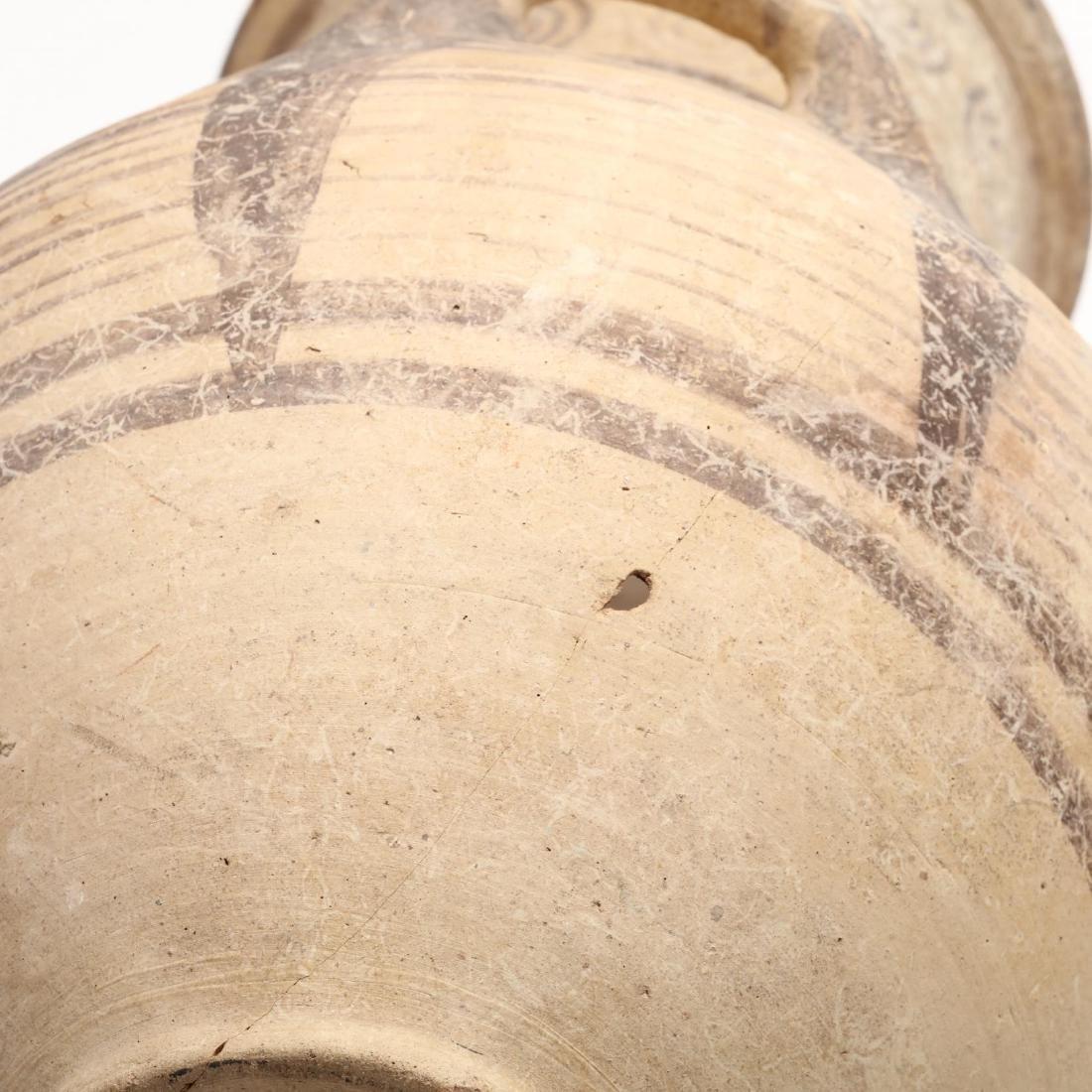Cypro-Archaic Bichrome Amphora - 8