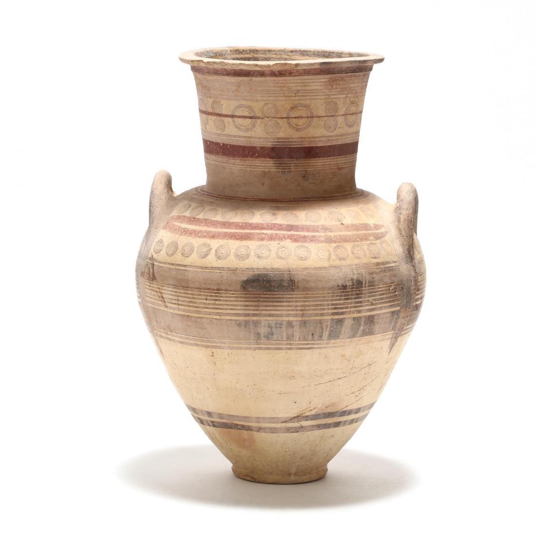 Large Cypro-Archaic Bichrome Amphora
