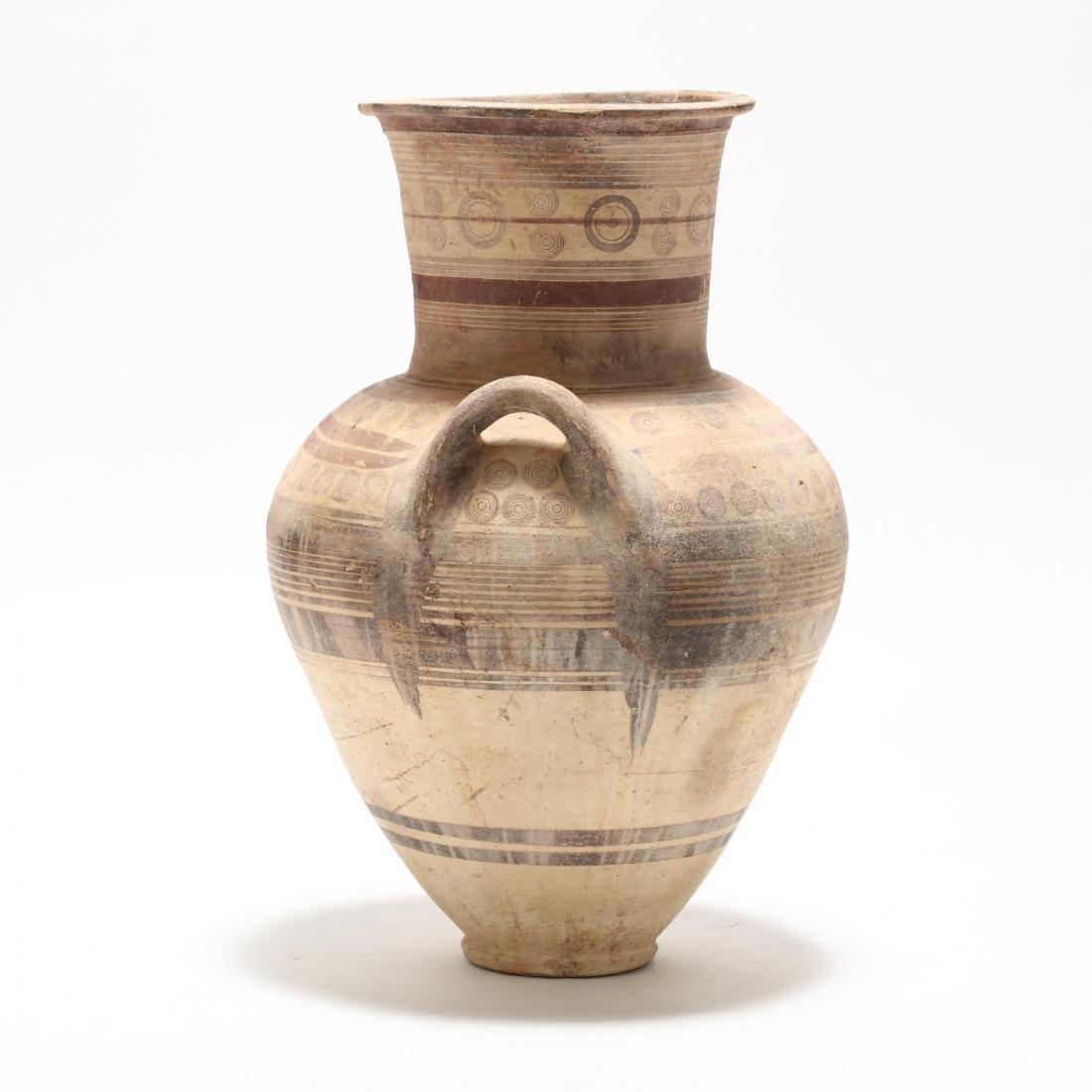 Large Cypro-Archaic Bichrome Amphora - 4
