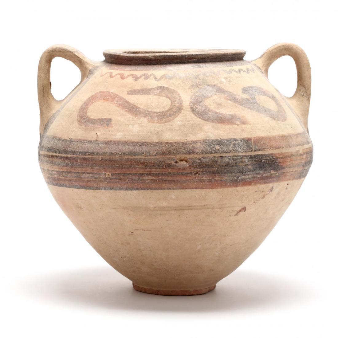 Cypro-Archaic Bichrome Large Jar