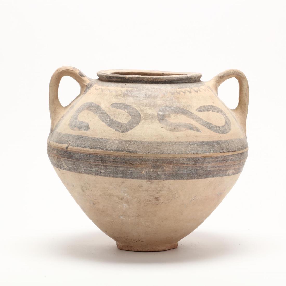 Cypro-Archaic Bichrome Large Jar - 4