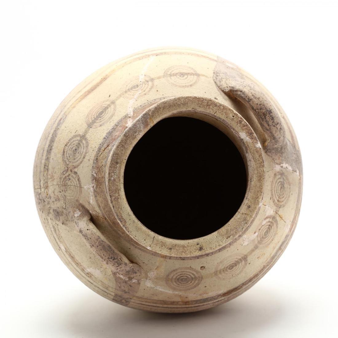 Cypro-Archaic Two-Handled Bichrome Amphora - 2