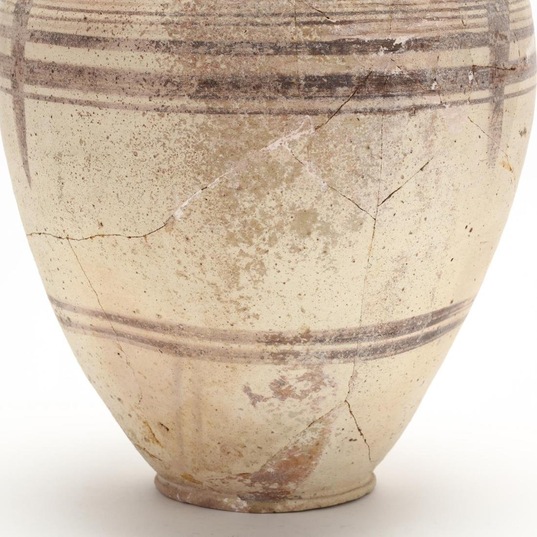 Cypro-Archaic Two-Handled Bichrome Amphora - 4