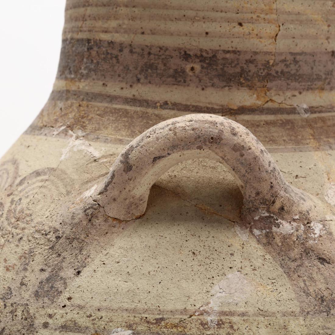 Cypro-Archaic Two-Handled Bichrome Amphora - 6