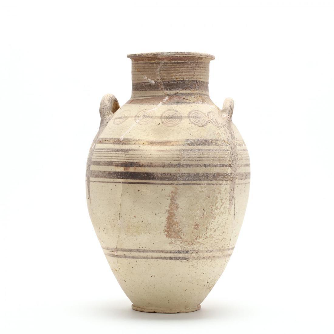 Cypro-Archaic Two-Handled Bichrome Amphora - 7