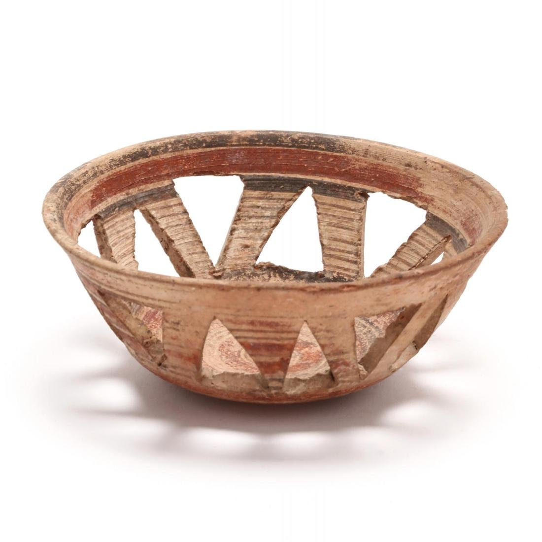 Cypro-Archaic Fenestrated Bowl