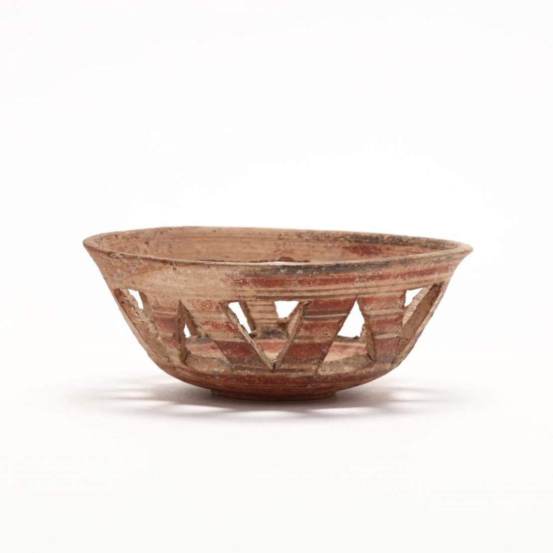 Cypro-Archaic Fenestrated Bowl - 3