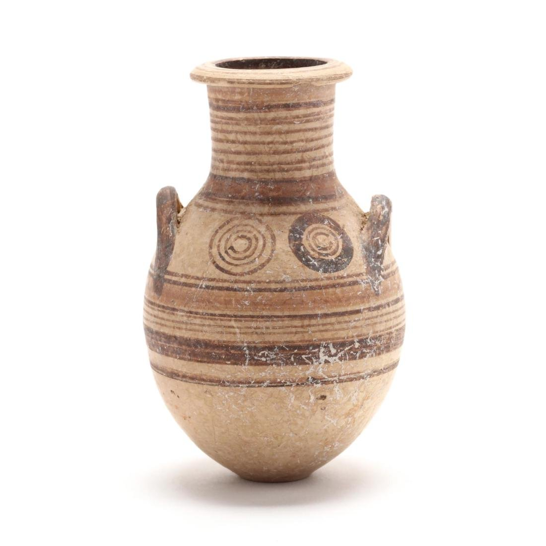 Cypro-Archaic Two-Handled Amphoriskos