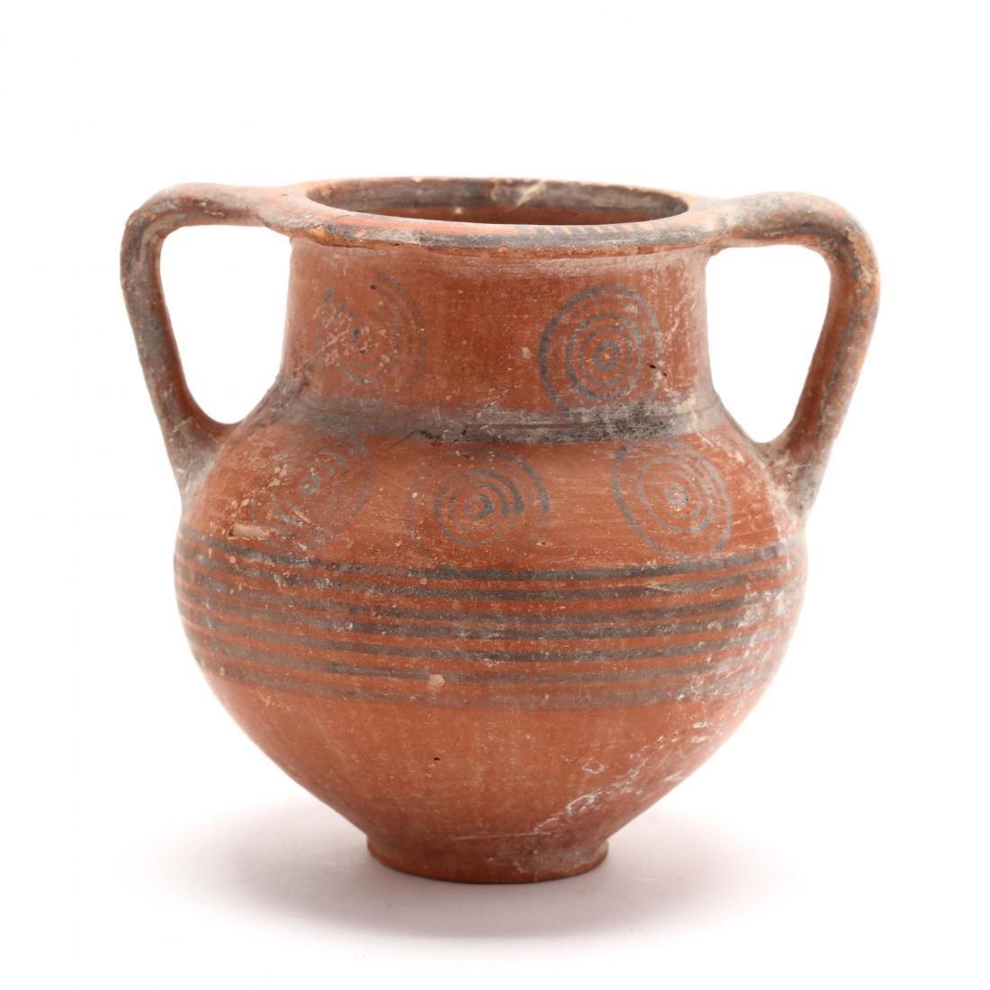 Cypro-Archaic Footed Amphoriskos