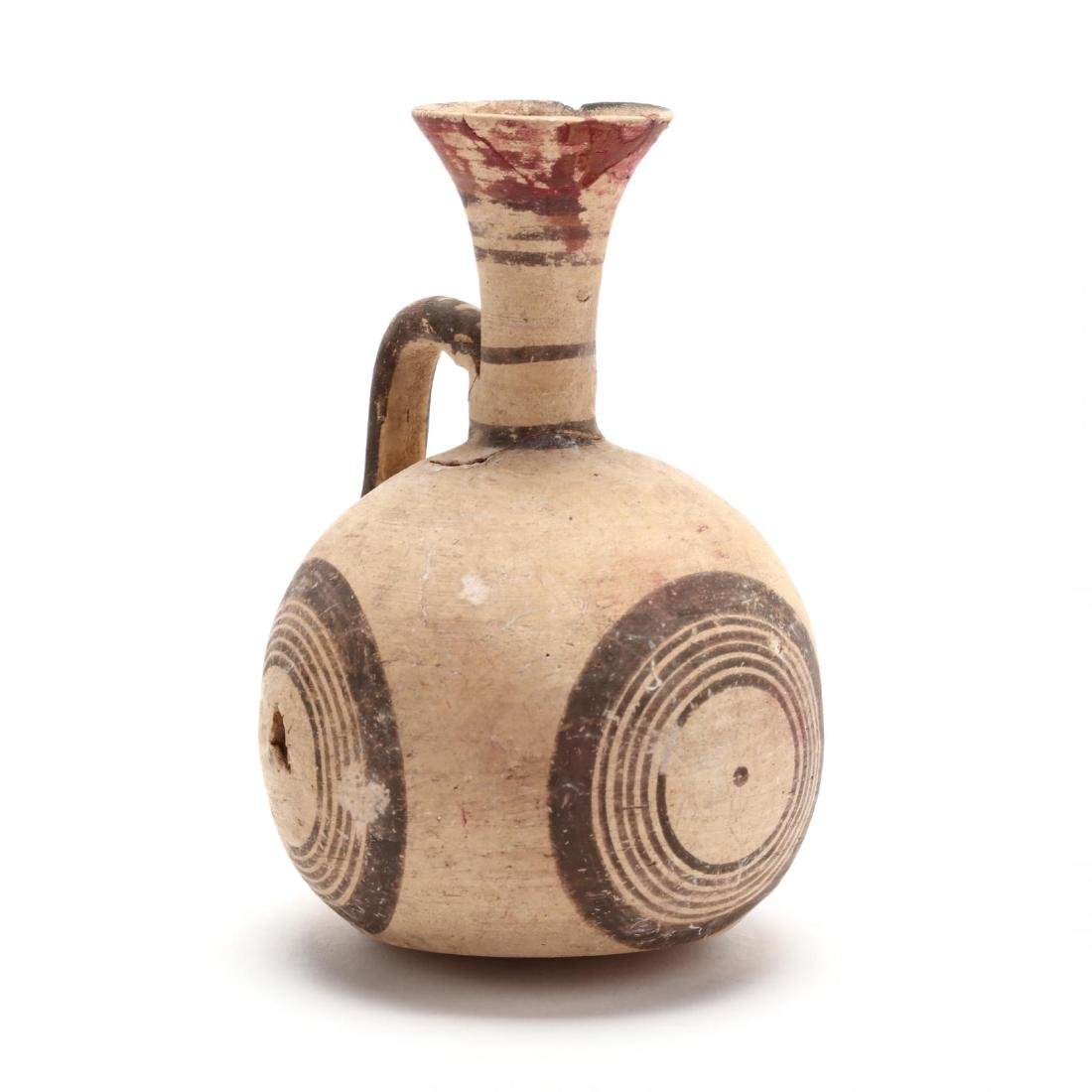 Cypro-Archaic Barrel Jug
