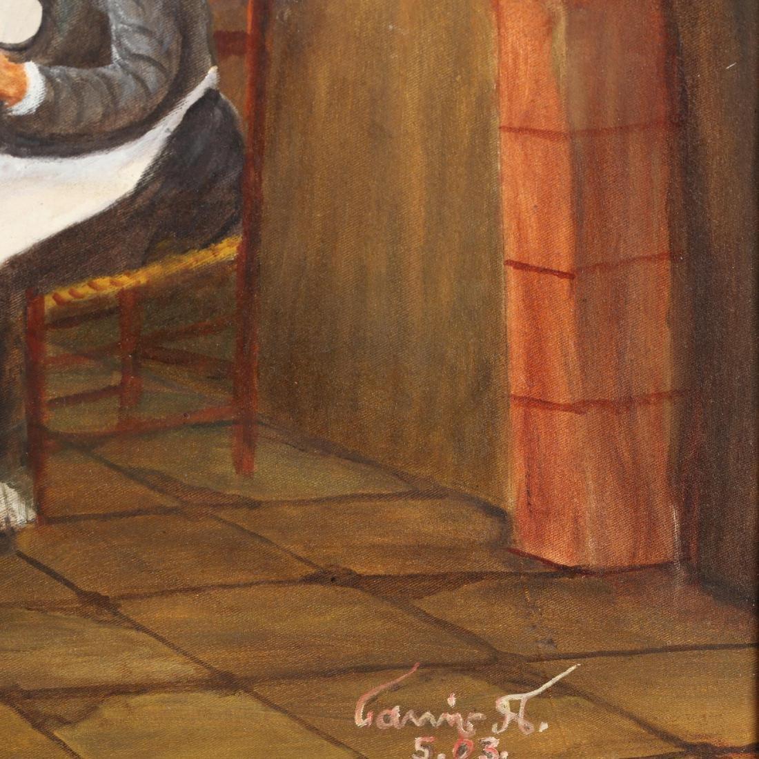 Yiannis Pelekanos (Cypriot, b. 1937), A Divine - 2