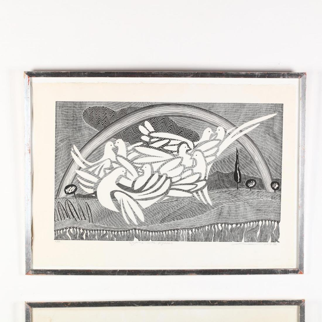 Hambis Tsangaris (Cypriot, b. 1947), Two Visions of - 2