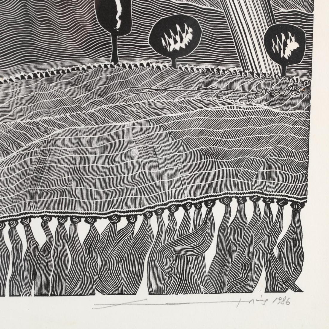 Hambis Tsangaris (Cypriot, b. 1947), Two Visions of - 3