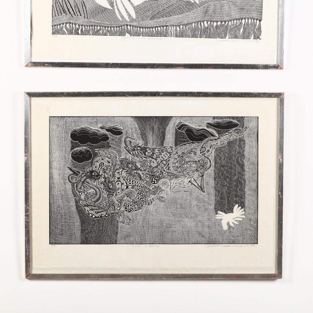 Hambis Tsangaris (Cypriot, b. 1947), Two Visions of - 5