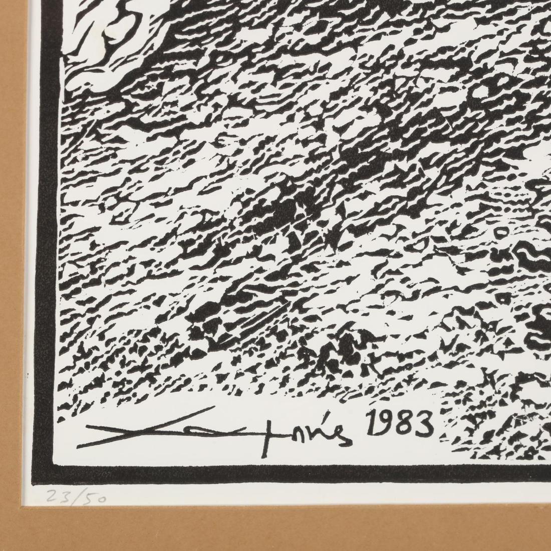 Hambis Tsangaris (Cypriot, b. 1947), Rustic Landscape - 2