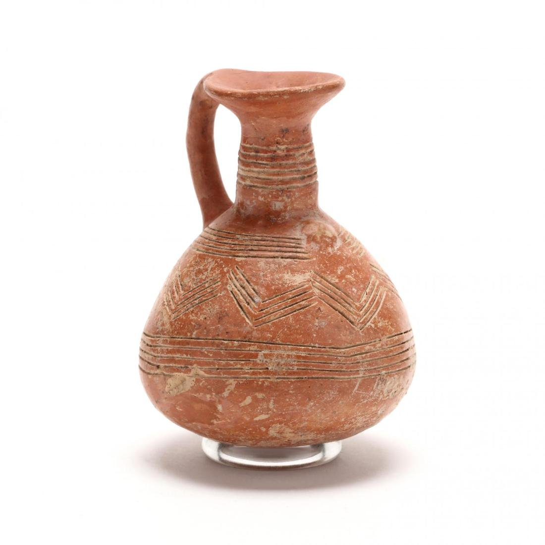 Cypriot Early Bronze Age Polished Red Ware Jug
