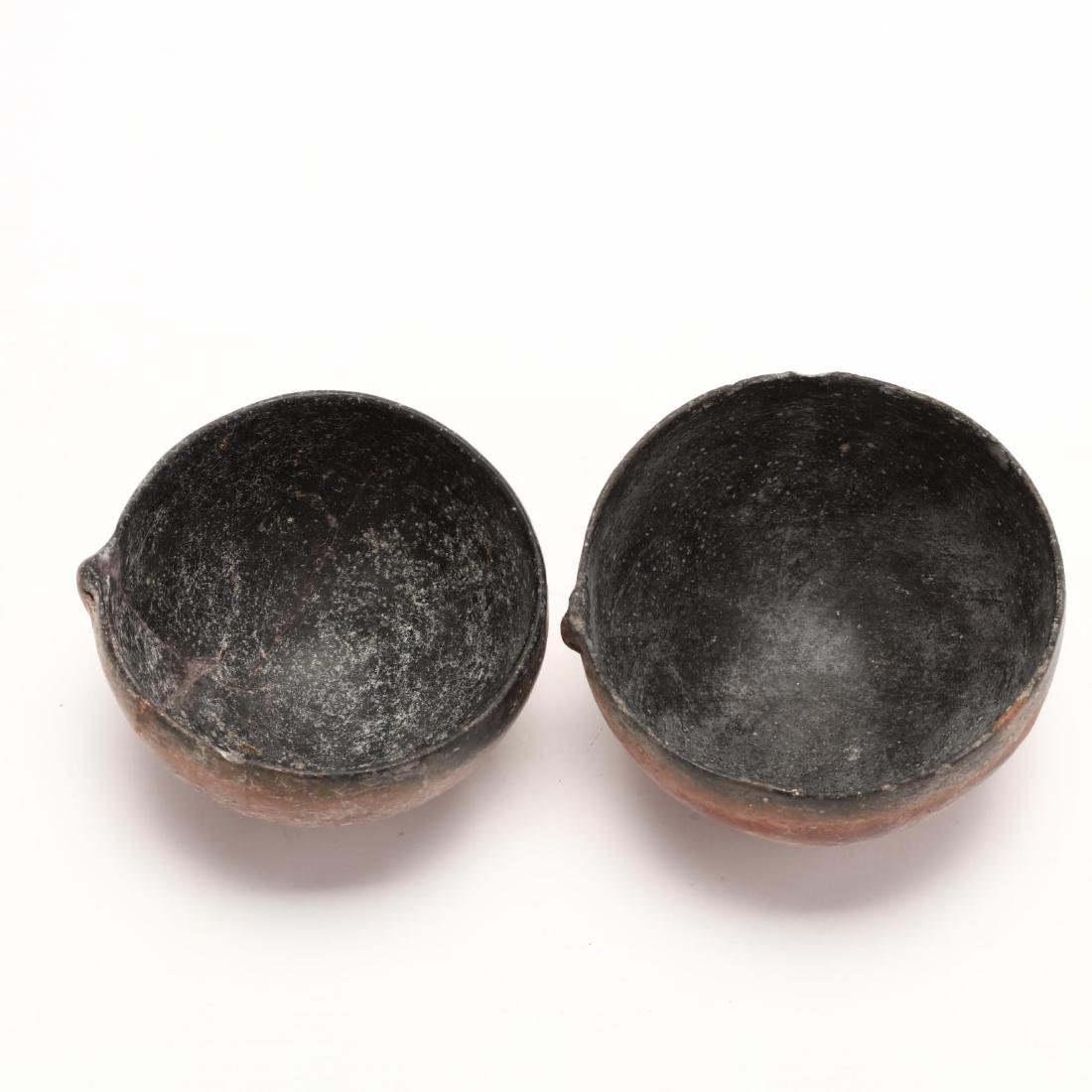Two Cypriot Bronze Age Polished Red Ware Bowls - 2