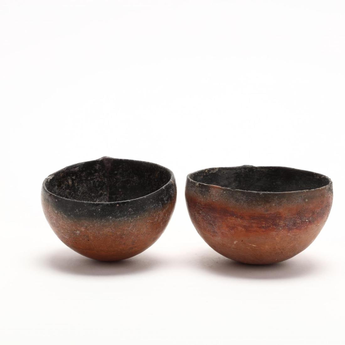 Two Cypriot Bronze Age Polished Red Ware Bowls - 3