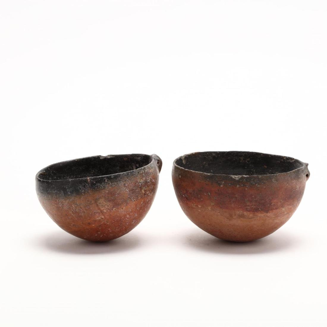 Two Cypriot Bronze Age Polished Red Ware Bowls - 4