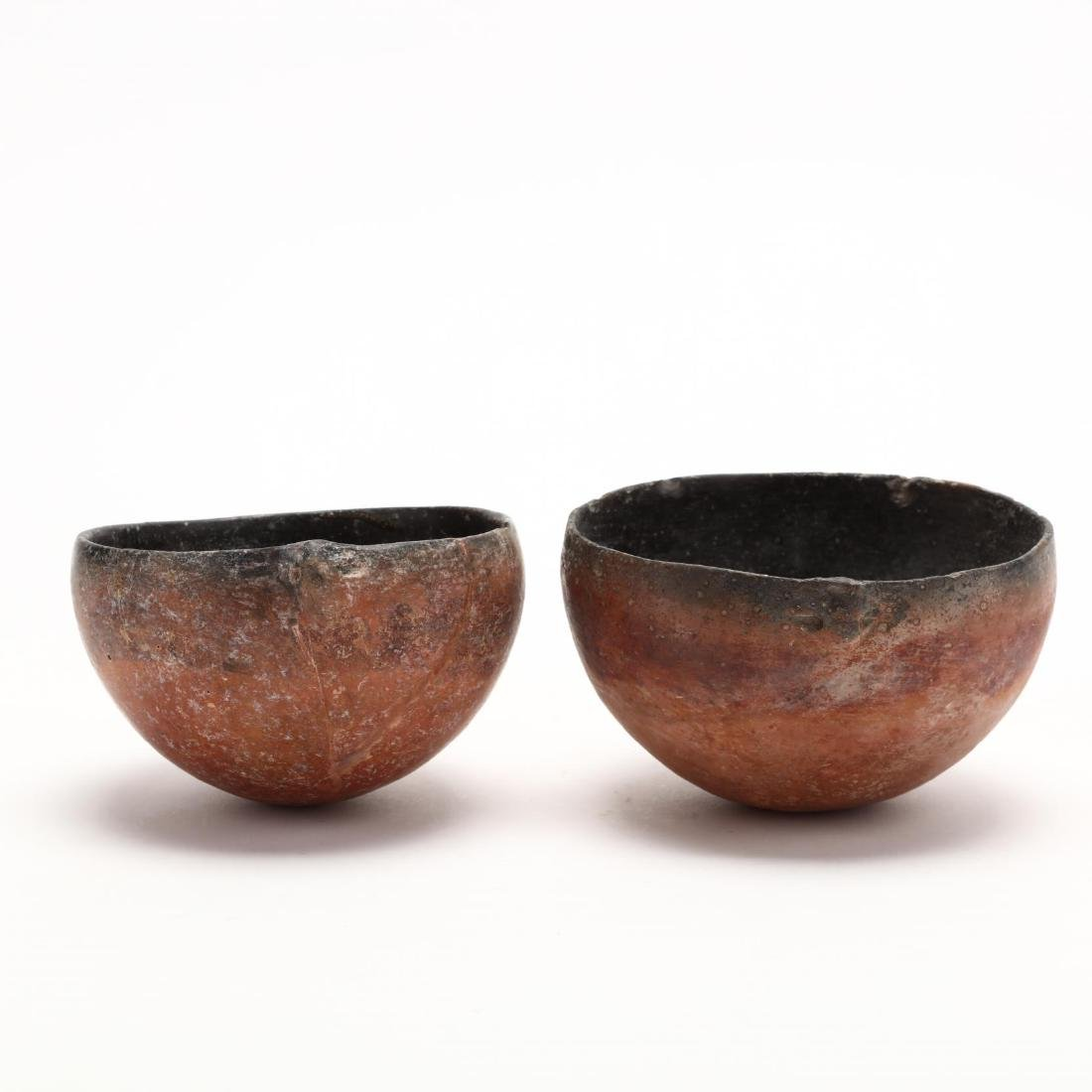 Two Cypriot Bronze Age Polished Red Ware Bowls - 5