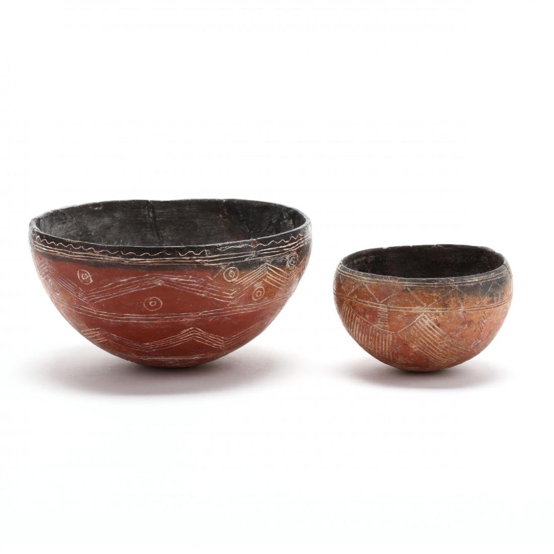 Two Cypriot Early Bronze Age Polished Red Ware Bowls